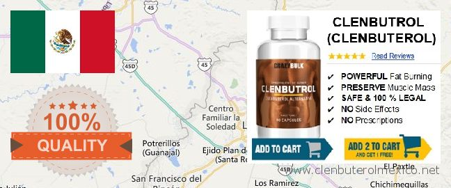 Where to Buy Clenbuterol online Centro Familiar la Soledad, Mexico