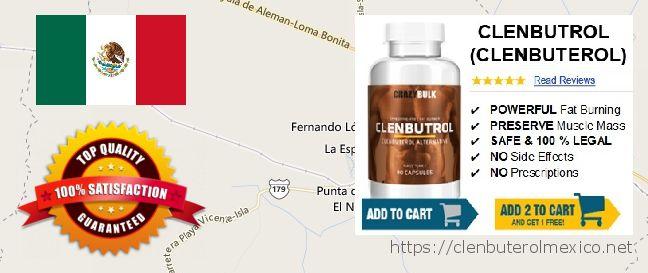 Buy Clenbuterol online La Isla, Mexico