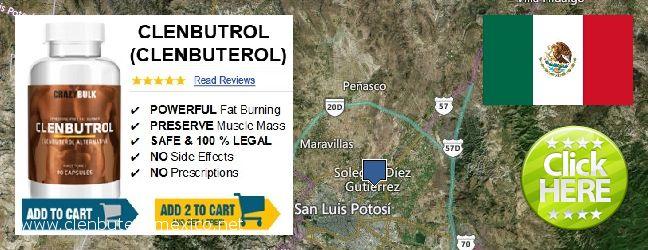 Where to Buy Clenbuterol online Soledad de Graciano Sanchez, Mexico